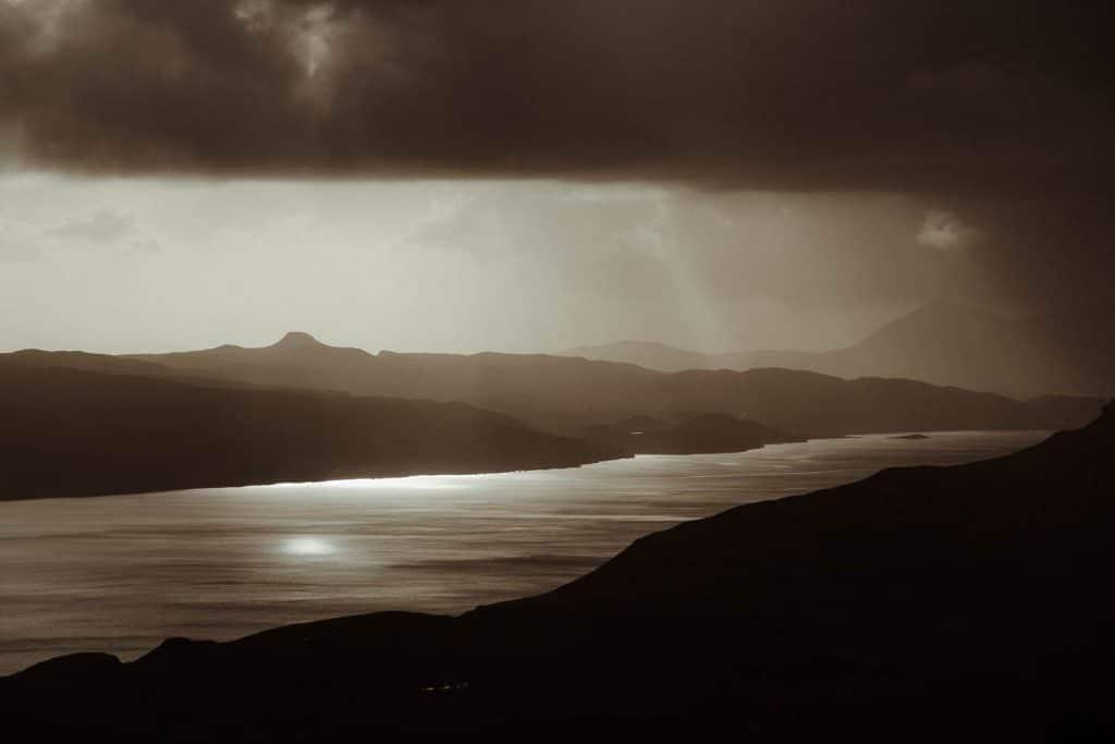 stormy Scottish highland elopement location