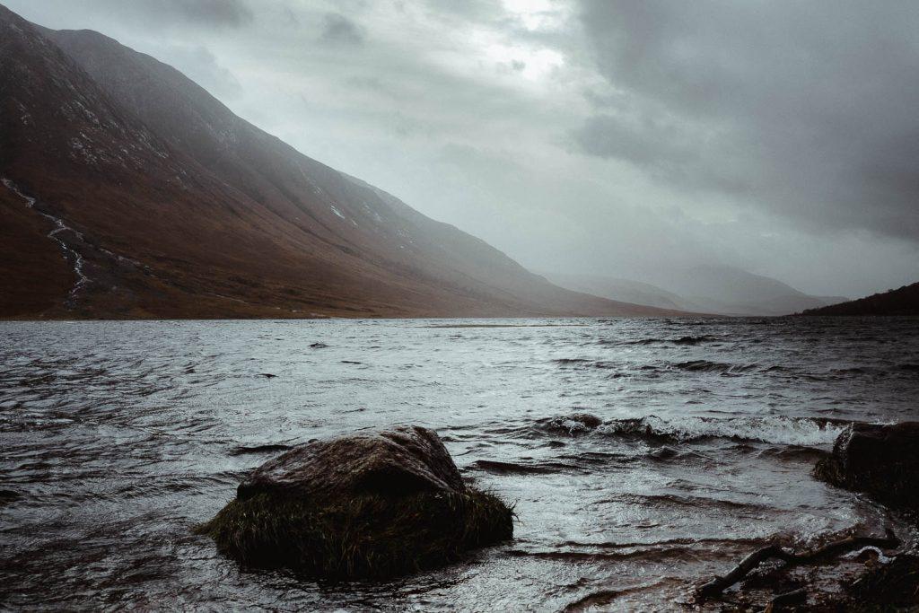 Loch Etive in Glencoe