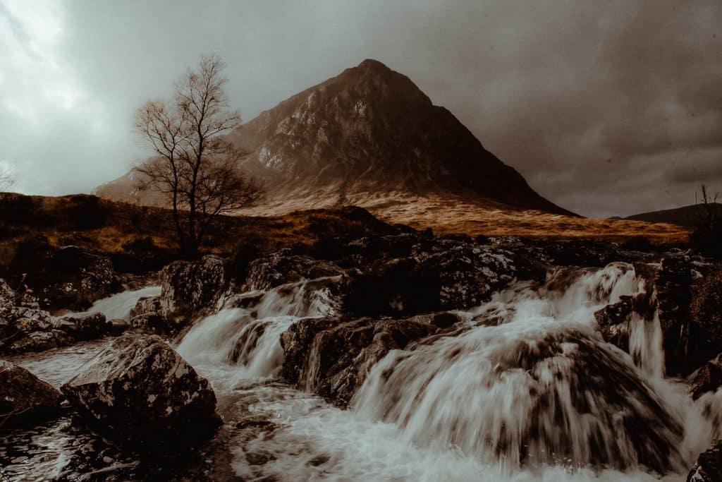 Buachaille Etive Mòr mountain in Glencoe